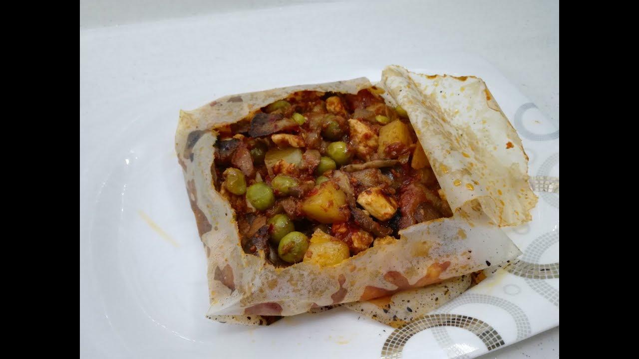 Tavuklu Kağıt Kebabı Tarifi