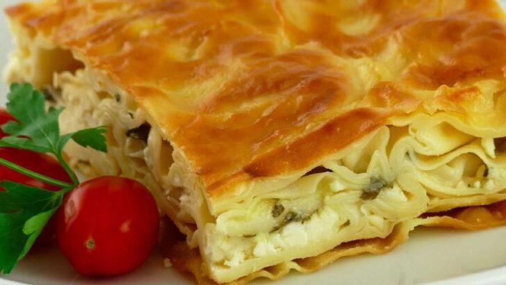 Peynirli Kolay Börek Tarifi