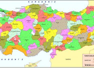 Türkiye Mülki İdare Haritaları