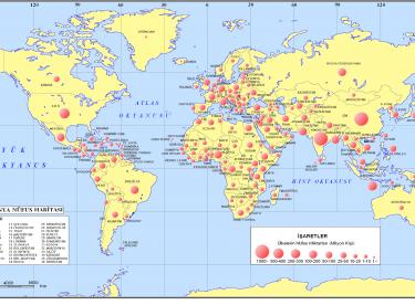 Dünya Nüfus Haritaları