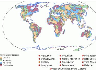 Dünya Jeoloji Haritaları