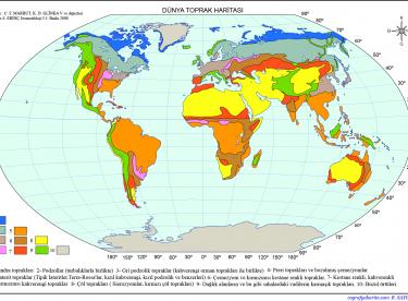 Dünya Toprak Haritaları