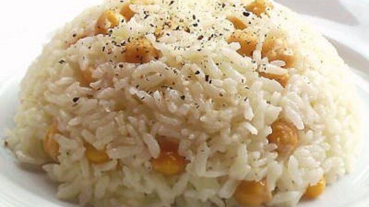 Nohutlu Pirinç Pilavı Tarifi