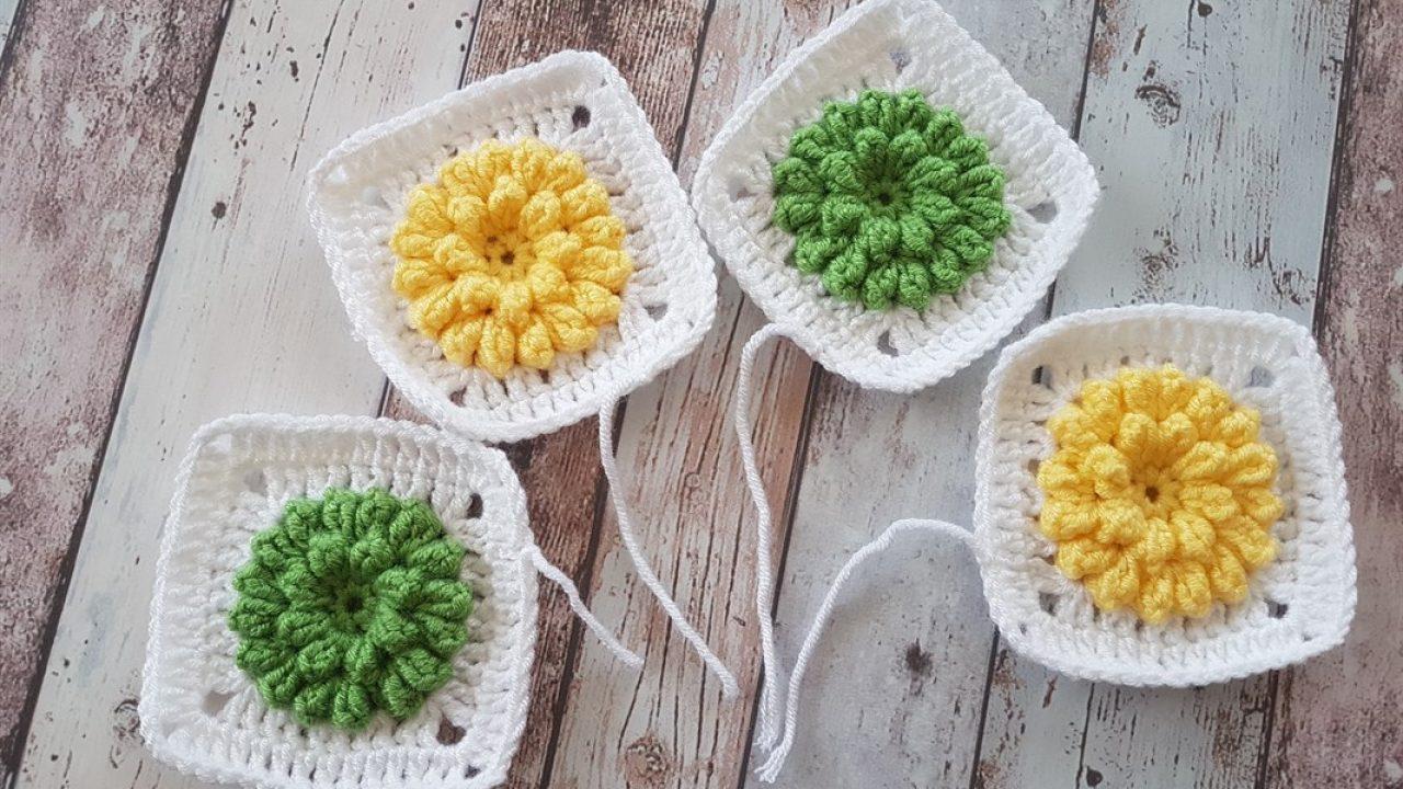 Popcorn bebek battaniye yapımı