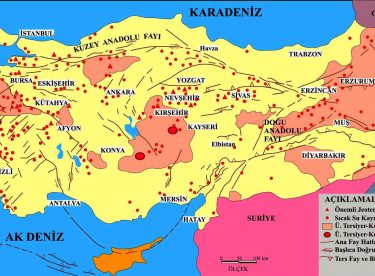 Türkiye Doğal Afet Haritaları