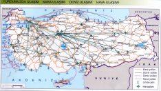Türkiye Ulaşım Haritaları
