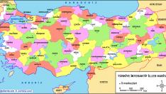 Türkiye İnteraktif Haritaları