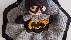 Amigurumi Batman Uyku Arkadaşı Yapımı