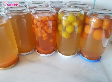 Kışlık Meyve Suyu Konsantresi Tarifi