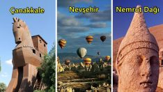 Türkiye'den UNESCO Dünya Mirası Listesi'ne Girmiş 18 Kültür Varlığı