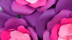 5 Adımda Dev Kağıt Güller Yapma