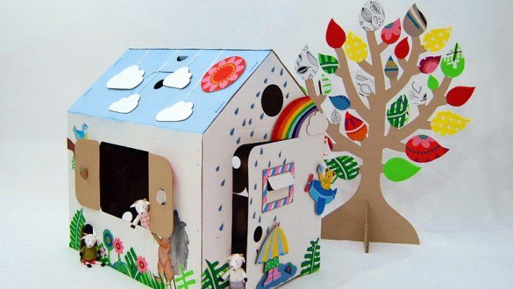 Kartondan Ev Yapımı