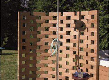 Bahçe duşu fikirleri
