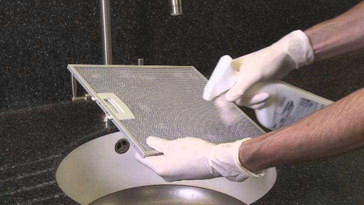 Aspiratör filtresi nasıl temizlenir?