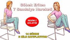 Göbek Eriten Sandalye Hareketleri