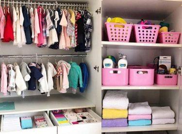 Çamaşır düzenleme fikirleri