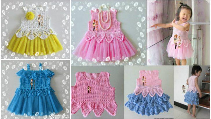 Kız Bebek Örgü Modelleri