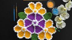 Çiçek lif yapımı