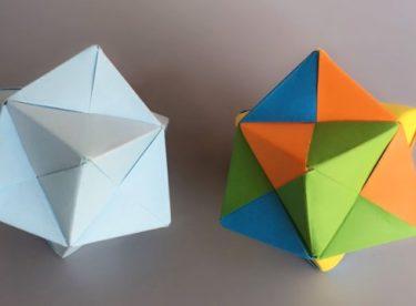 Origami 3D Top Yapımı