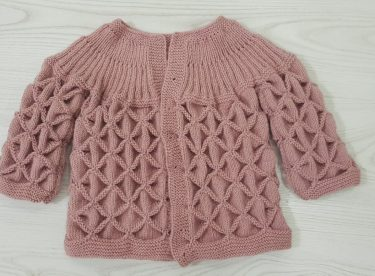 Bebek ceketi yapımı