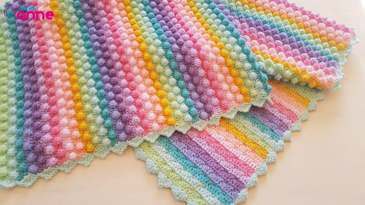 Bonibon Bebek Battaniyesi Yapımı