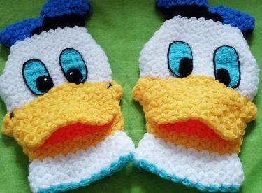 Donald duck (figürlü) lif yapımı