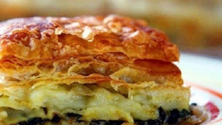 Milföylü yufkalı börek tarifi