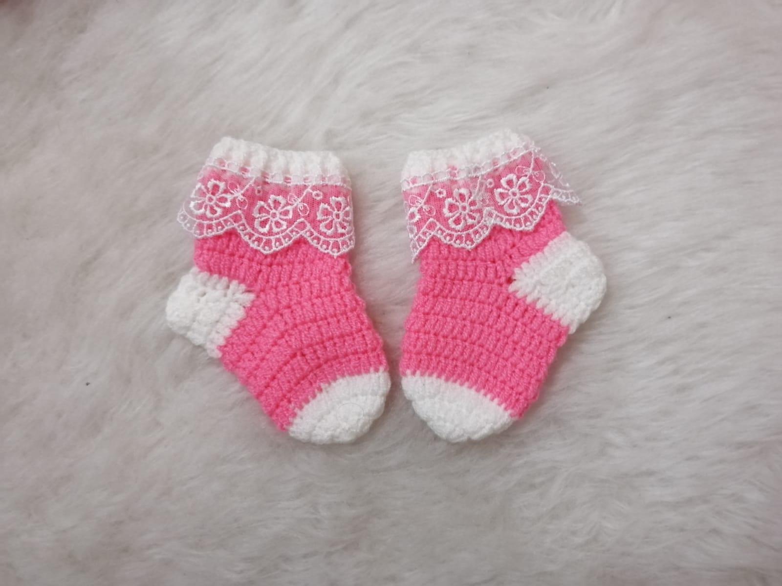 Yeni Doğan çorap Yapımı Canım Anne