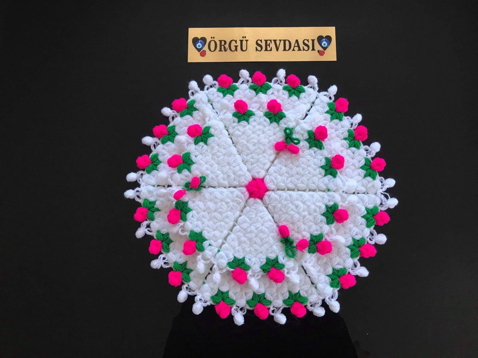 Çiçek Bahçesi Lif Modeli Yapılışı Videolu Anlatımlı