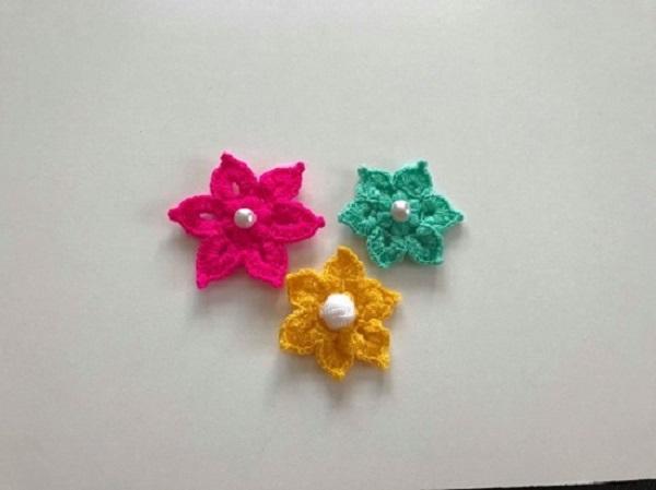 Tığ işi çiçek yapımı - 10 Dakikada Örebilirsiniz - Nalan Ünal | 449x600