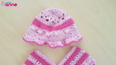 Kız Bebek Şapkası Yapımı