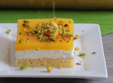 Pudingli Portakal Soslu Hafif Pasta