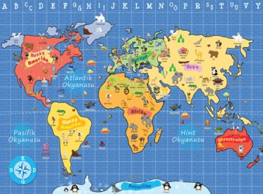 Coğrafya Önemli Haritalar