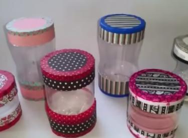 Plastik Şişeden Hediye Kutusu Yapma