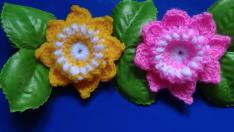 Tığ İşi Süs Çiçek Yapımı