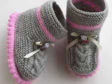 Bebek bot patik yapılışı