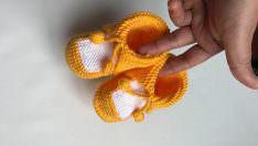 Bebek patiği modeli yapılışı