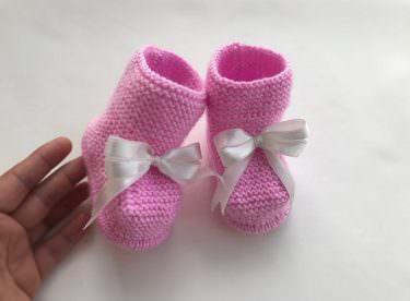 Haraşo bebek botu yapılışı