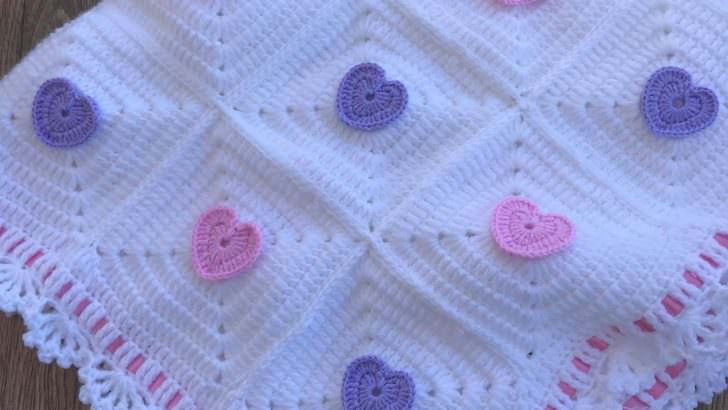 Bebek battaniyesi örgü Instagram