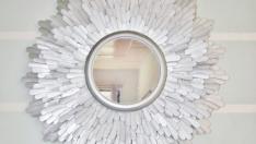 Dondurma Çubuklarından Ayna Yapımı