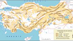 Türkiye Dağ Haritası