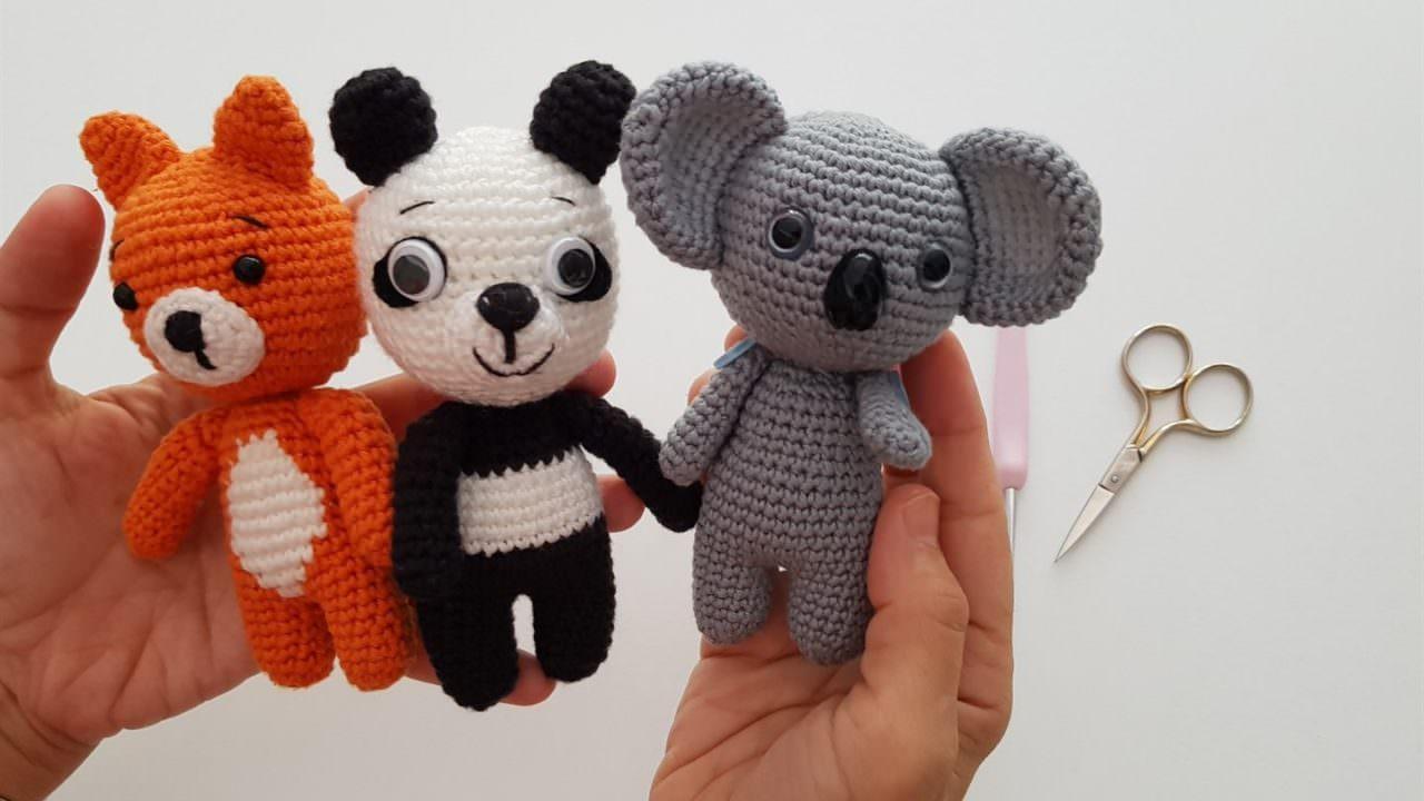 Amigurumi ) Örgü Oyuncak Sevimli Tavşan Yapımı 1 (Crochet ...   720x1280