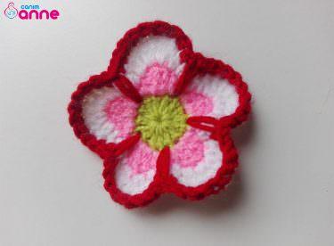 Buzdolabı Süsü Magnet Çiçek Yapımı