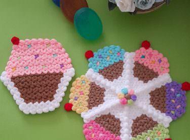 Cupcake Kese Lif Modeli Yapılışı