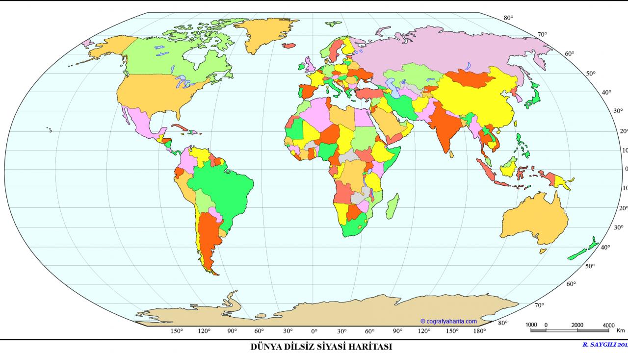 Dünya Dilsiz Haritaları – Dilsiz Harita Nedir?