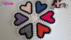 Kalp motifli lif modeli yapımı