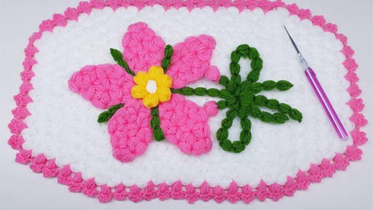 Sefa çiçeği lif modeli yapılışı