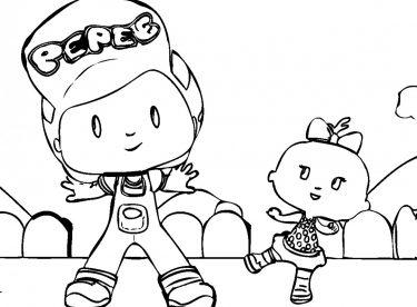 Boyama Sayfaları Okul öncesi 4