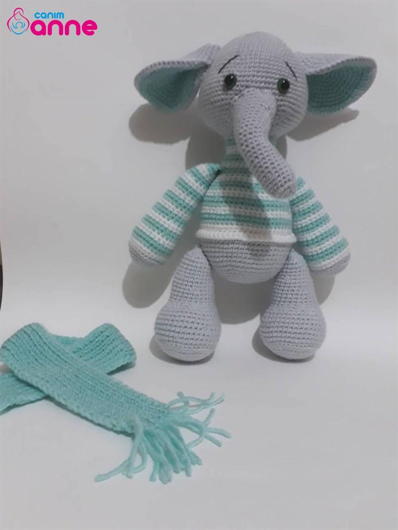 Amigurumi fil yapımı - anlatımlı - 10marifet.org | 1080x810