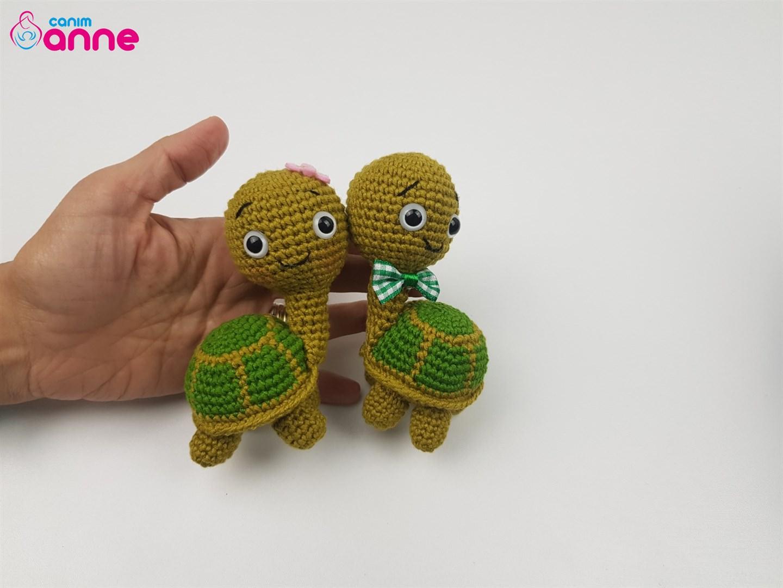 Amigurumi - renkli kaplumbağa – 10marifet.org | 1080x1440